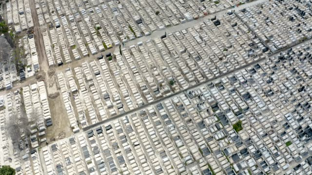 jewish cemetery - aerial view - buried stock videos & royalty-free footage