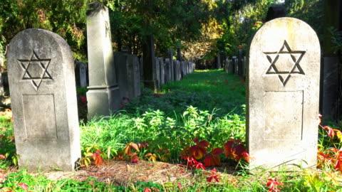 jewish cemetery - judaism stock videos & royalty-free footage