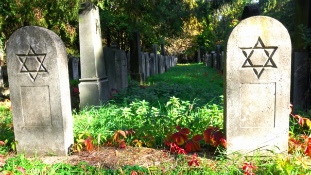 jewish cemetery - judaism stock videos & royalty-free footage