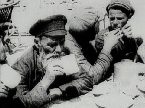 jewish farmers having dinner - judaism stock videos & royalty-free footage