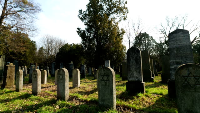 jewish grave with star of david - star of david stock videos and b-roll footage