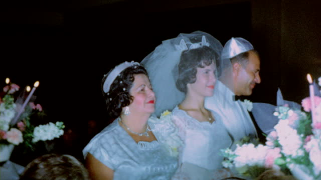 jewish wedding - judaism stock-videos und b-roll-filmmaterial