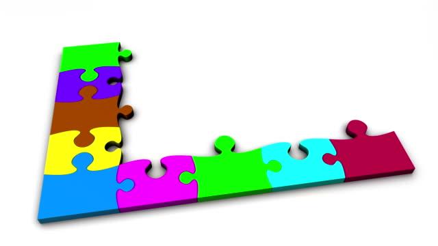 Jigsaw Puzzle Animation
