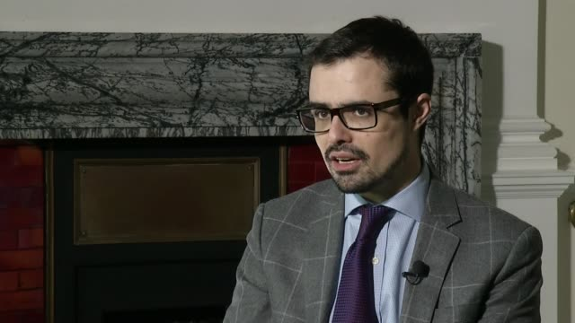 jihadi terrorism rife in north africa; england: london: int set-up and interview with raffaello pantucci sot - the difficulty with this area is it is... - porous stock videos & royalty-free footage