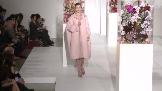milan fashion week women a/w 2012 on february 25 2012 in milan italy - sander stock videos & royalty-free footage