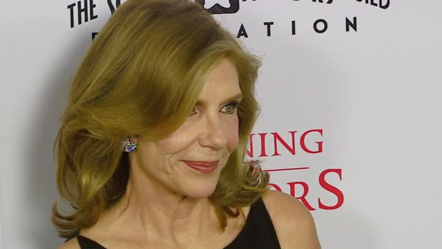 jill clayburgh at the tristar pictures presents 'running with scissors' los angeles premiere at academy of motion picture arts sciences in beverly... - tristar pictures stock videos and b-roll footage