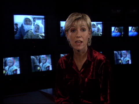 lib excerpt jill dando appearing in charity appeal for kosovan refugees lib london dando wearing red dress arriving for function - jill dando stock videos and b-roll footage