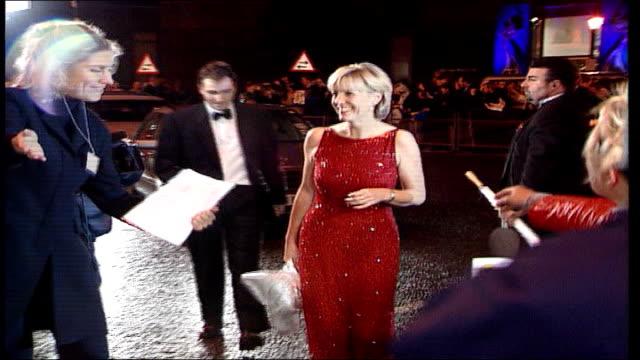barry george refused bail; lib jill dando arriving at national television awards - jill dando stock videos & royalty-free footage