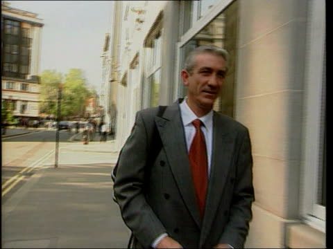 barry george denies owning firearm england london old bailey detective constable michael snowden towards along street track - jill dando stock videos and b-roll footage