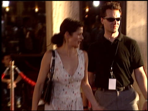 jill hennessy at the 'catwoman' premiere at the cinerama dome at arclight cinemas in hollywood, california on july 19, 2004. - arclight cinemas hollywood stock videos & royalty-free footage