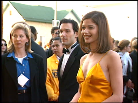 jill hennessy at the screen actor's guild awards at the shrine auditorium in los angeles, california on february 22, 1997. - shrine auditorium stock-videos und b-roll-filmmaterial
