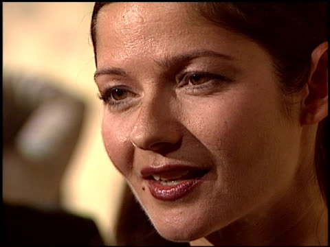 vídeos de stock, filmes e b-roll de jill hennessy at the women in film crystal and lucy awards at the century plaza hotel in century city california on june 18 2004 - century plaza