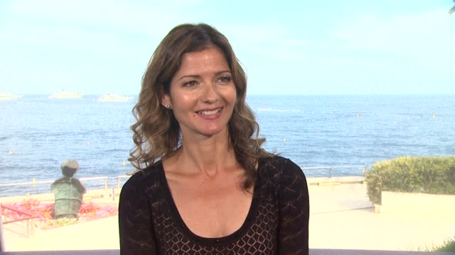 INTERVIEW Jill Hennessy on shooting her series 'Jo' on location in Paris at the 53rd MonteCarlo Television Festival Day 2 in MonteCarlo Monaco on...