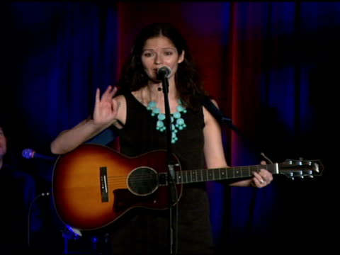 jill hennessy performs at the food bank for new york city's 25th anniversary and 5th annual can-do awards dinner at abigail kirsch's pier sixty at... - chelsea piers stock videos & royalty-free footage