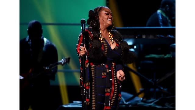 jill scott performs onstage during the 51st naacp image awards, presented by bet, at pasadena civic auditorium on february 22, 2020 in pasadena,... - pasadena civic auditorium stock videos & royalty-free footage