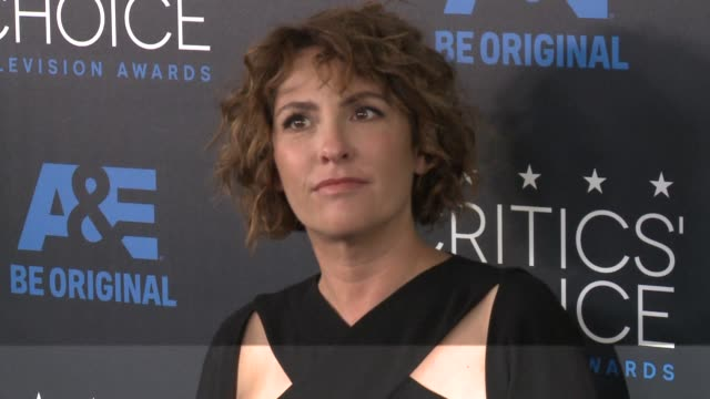 jill soloway at the 2015 critics' choice television awards at the beverly hilton hotel on may 31, 2015 in beverly hills, california. - 放送テレビ批評家協会賞点の映像素材/bロール