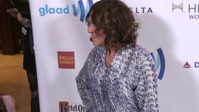 jill soloway at the 25th annual glaad media awards at the beverly hilton hotel on april 12 2014 in beverly hills california - the beverly hilton hotel stock-videos und b-roll-filmmaterial