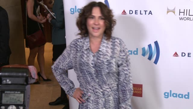 jill soloway at the 25th annual glaad media awards at the beverly hilton hotel on april 12 2014 in beverly hills california - ビバリーヒルトンホテル点の映像素材/bロール