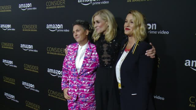 Jill Soloway Judith Light and Alanis Morissette at Amazon Prime Video Presents 'Transparent' Official Emmy FYC Event And Special Screening at...