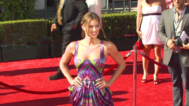 vídeos de stock, filmes e b-roll de jill wagner at the espn's 2010 espys at los angeles ca - espy awards