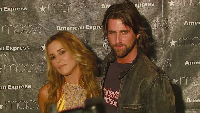 Jillian Barberie and husband Grant Reynolds at the Macy's Passport Gala 2006 at Santa Monica Airport's Barker Hanger in Santa Monica California on...