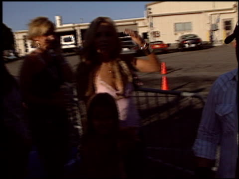 jillian barberie at the 2003 teen choice awards at universal amphitheatre in universal city, california on august 3, 2003. - universal city video stock e b–roll