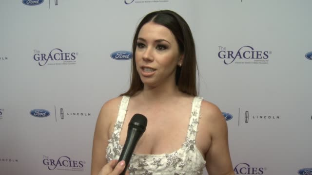INTERVIEW Jillian Rose Reed on the Gracies at 42nd Annual Gracie Awards in Los Angeles CA