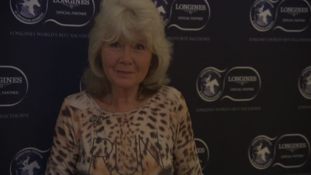 jilly cooper at longines world's best racehorse ceremony on january 20 2015 in london england - pferdeartige stock-videos und b-roll-filmmaterial