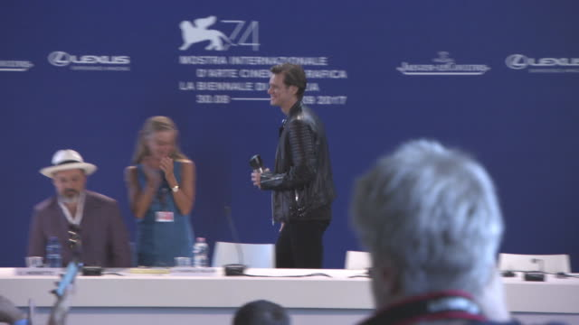 ATMOSPHERE 'Jim Andy The Great Beyond The Story of Jim Carrey Andy Kaufman Press Conference 74th Venice International Film Festival at Palazzo del...