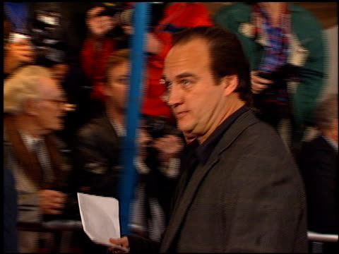 vídeos y material grabado en eventos de stock de jim belushi at the 'as good as it gets' premiere at the mann village theatre in westwood, california on december 6, 1997. - jim belushi