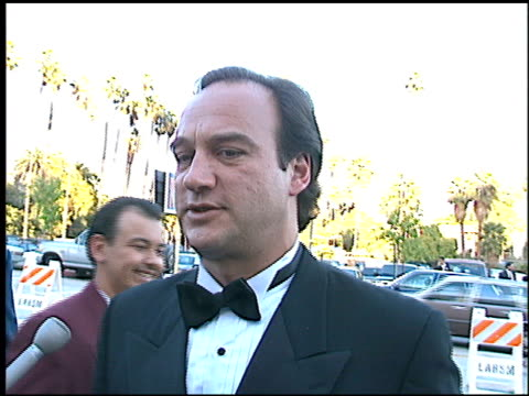 vídeos de stock e filmes b-roll de jim belushi at the blockbuster awards at pantages theater in hollywood, california on march 6, 1996. - pantages theater