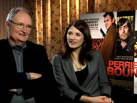 Jim Broadbent and Jodie Whittaker on doing an Irish accent in the film on how there are many variations of Irish accents at the Perrier's Bounty...