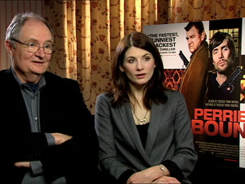 Jim Broadbent and Jodie Whittaker on how everyone thought they were the lead including Liam Cunningham and the clampers in the film at the Perrier's...