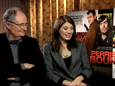 Jim Broadbent and Jodie Whittaker on how Jodie escaped doing an Irish accent because they decided it was acceptable to have someone who was nonIrish...