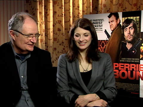 Jim Broadbent and Jodie Whittaker on how they had such a good time on set on how Ian Fitzgibbon the director was good at keeping everyone happy and...
