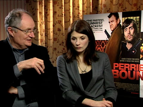Jim Broadbent and Jodie Whittaker on how they loved the script and on how well characterised all the roles were and how they all had good motivations...
