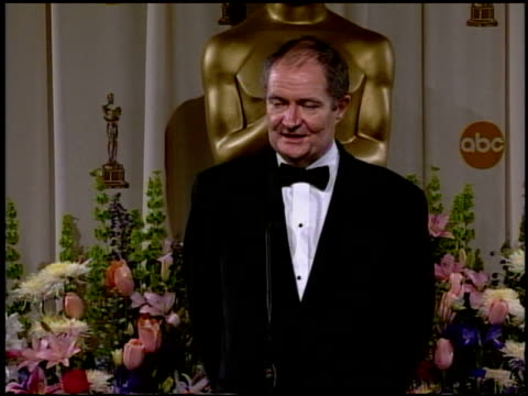 Jim Broadbent at the 2002 Academy Awards Press Room at the Kodak Theatre in Hollywood California on March 24 2002