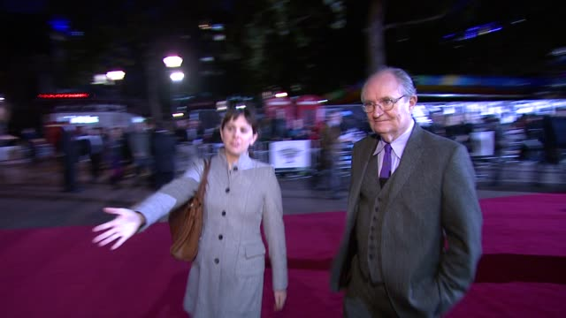 Jim Broadbent at the Another Year Premiere 54th BFI London Film Festival at London England