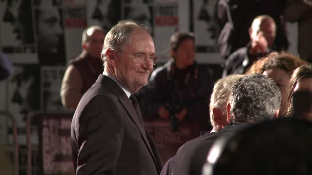 Jim Broadbent at the London Film Festival Opening Night Frost Nixon premiere at London