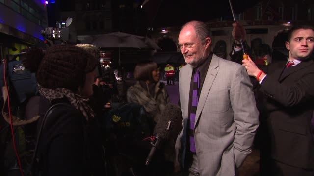 Jim Broadbent at the The Young Victoria World Premiere at London