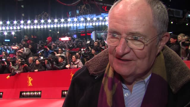 Jim Broadbent on his perception of Margaret Thatcher after his role at The Iron Lady Premiere 62nd International Berlin Film Festival 2012 at...