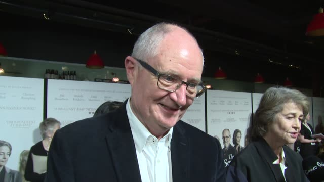 Jim Broadbent on the movie founding and how it relates to people of that age on April 06 2017 in London England