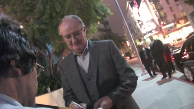 Jim Broadbent outside the ArcLight Hollywood at the Celebrity Sightings in Los Angeles at Los Angeles CA