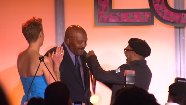 jim brown at the 7th annual essence black women in hollywood luncheon at beverly hills hotel on february 27, 2014 in beverly hills, california. - beverly hills hotel stock videos & royalty-free footage