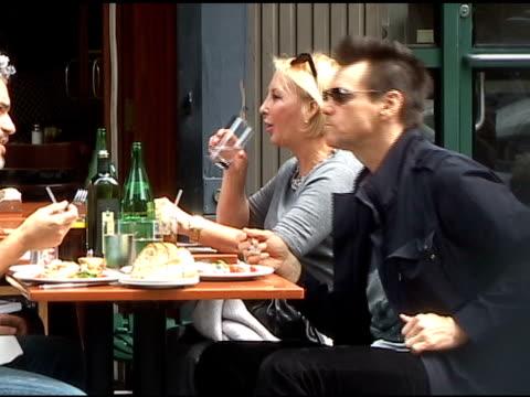 Jim Carrey at Bar Pitti on 5/20/2011