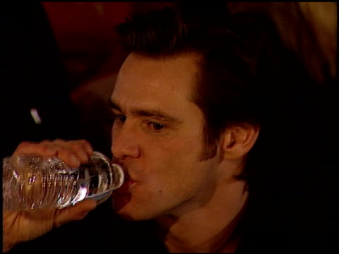 Jim Carrey at the 2000 Golden Globe Awards at the Beverly Hilton in Beverly Hills California on January 23 2000
