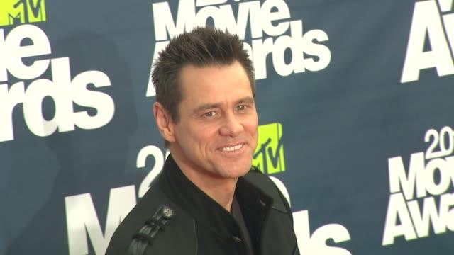 Jim Carrey at the 2011 MTV Movie Awards at Los Angeles CA