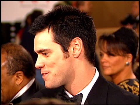 Jim Carrey at the AFI Honors Honoring Clint Eastwood entrances at the Beverly Hilton in Beverly Hills California on March 1 1996