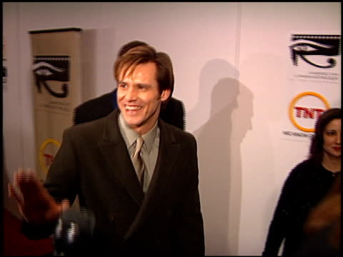 Jim Carrey at the American Cinematheque honors Nicolas Cage at the Beverly Hilton in Beverly Hills California on October 28 2001