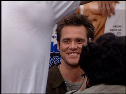 Jim Carrey at the 'Me Myself and Irene' Premiere on June 15 2000